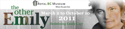 The Other Emily at the Royal BC Museum